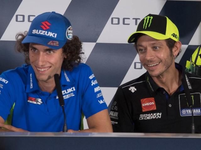 "MotoGP, Alex Rins: ""Emozionante sconfiggere Rossi e Marquez"""