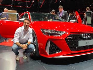Nuova Audi RS6 Avant, in video dal Salone di Francoforte 2019