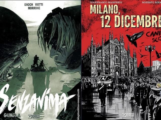 La strage di Piazza Fontana a Milano e il nuovo volume firmato da Luca Enoch arrivano dal 7 novembre
