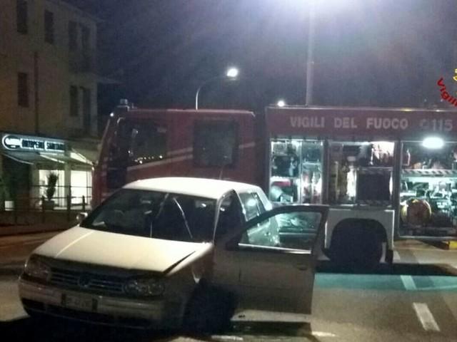 Schianto tra auto nell'Alta Padovana: tre i feriti, due trasportati in ospedale