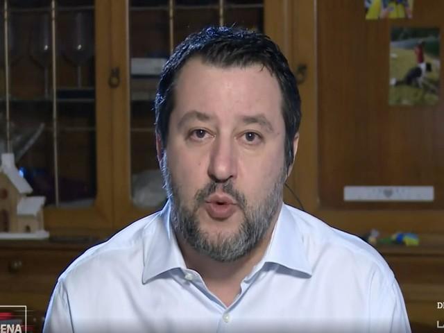 Salvini va da Giletti per criticare (giustamente) Friedman. Ma dimentica il suo passato
