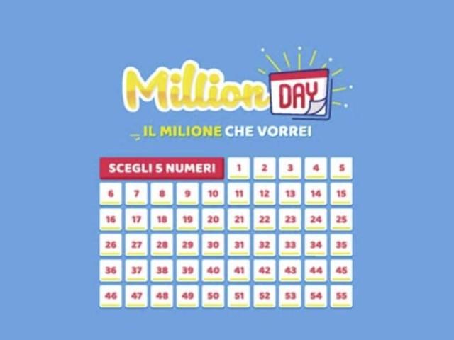 Estrazione Million Day di oggi, martedì 11 giugno 2019: ecco i numeri vincenti