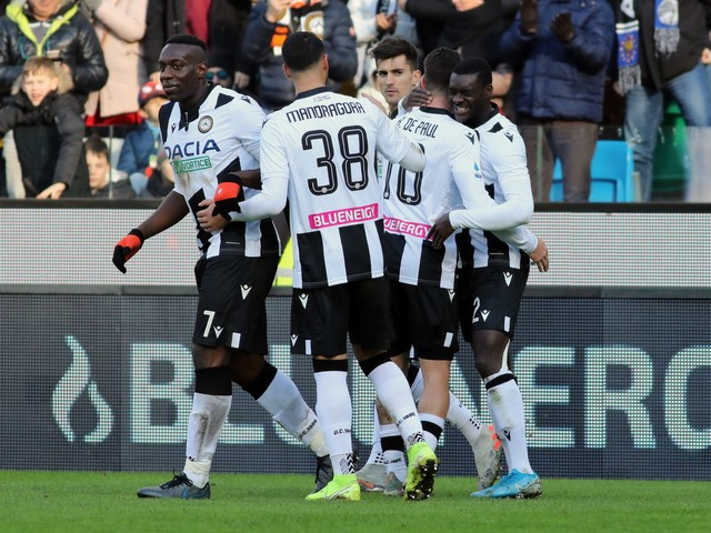 Serie A, Udinese-Sassuolo 3-0: i bianconeri agganciano il Napoli