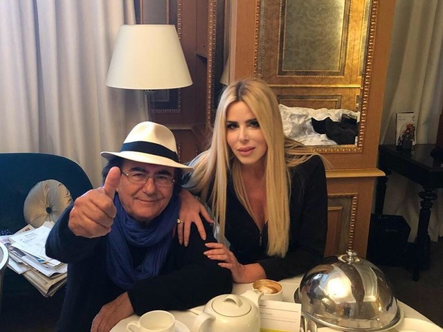 Lecciso e Al Bano al concerto di Antonacci e Pausini a Bari