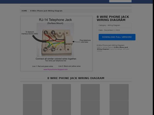 Wire Phone Jack Wiring Diagram