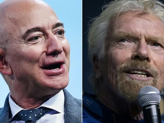 Inizia la sfida per lo spazio tra Branson e Bezos