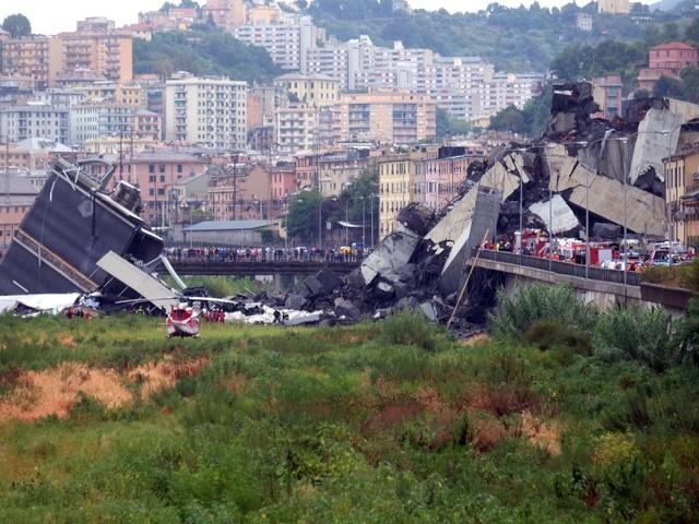 Genova, la mobilità dopo il crollo del ponte Morandi