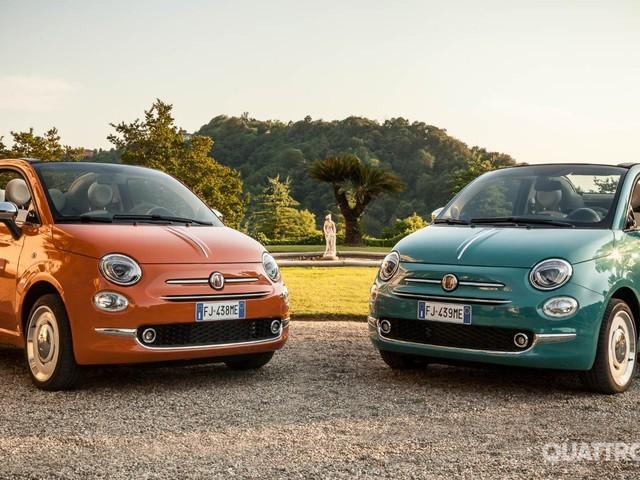 Fiat 500 Anniversario - Versione speciale per i 60 anni del Cinquino
