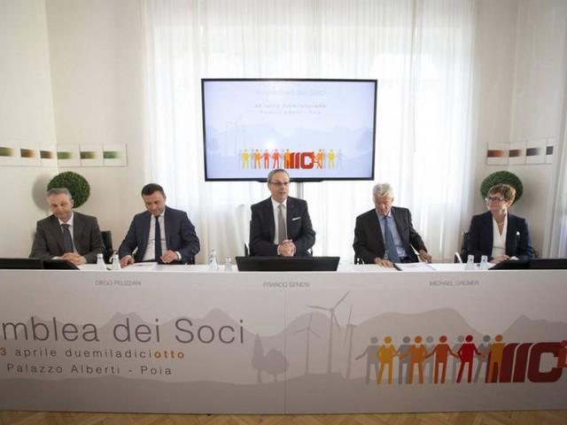 Mediocredito Trentino – Alto Adige: Senesi confermato presidente, utile 3,2 milioni