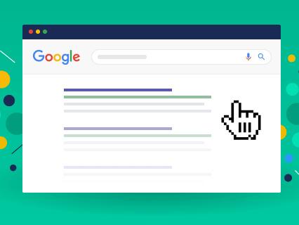 Google e il CTR (tasso di click sui risultati): lo studio di Backlinko