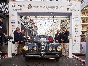 Alfa Romeo, una 6C 2500 SS Coupé è 'regina' del Belgio
