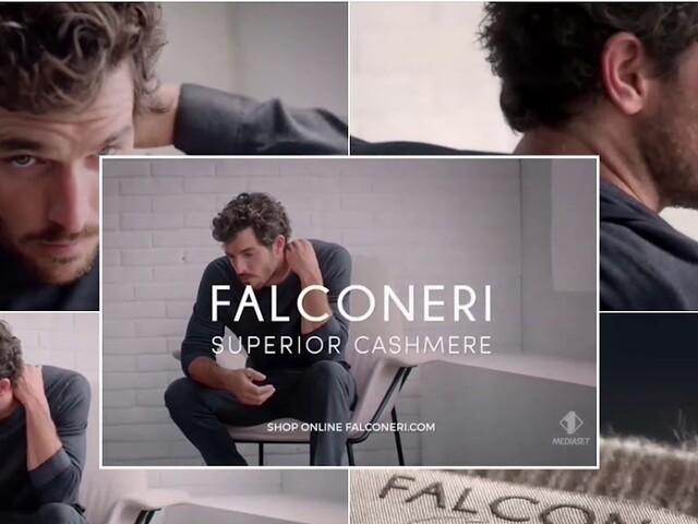 Chi è il modello nello spot Falconeri Cashmere