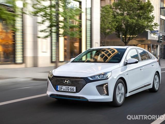 Hyundai Ioniq - Al volante della Plug-in Hybrid