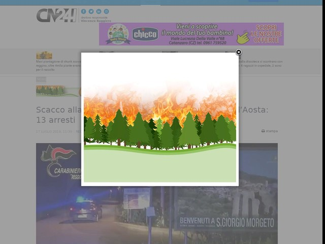 """Scacco alla cosca Facchineri, """"dominava"""" in Val d'Aosta: 13 arresti"""