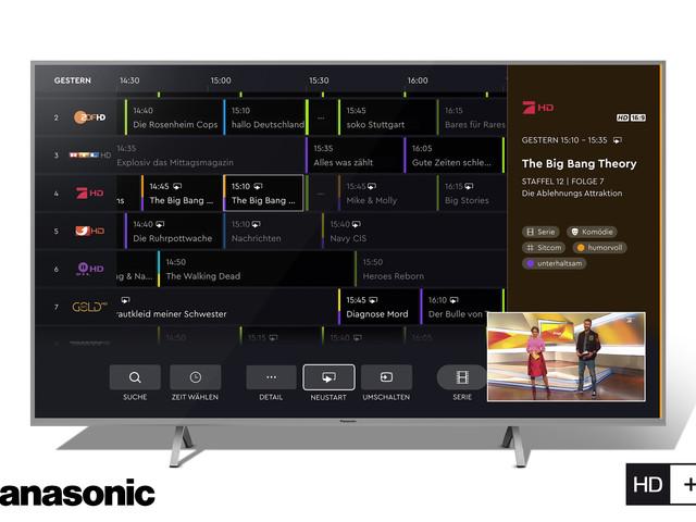 La prima interfaccia utente sui televisori connessi Operator Application HbbTV