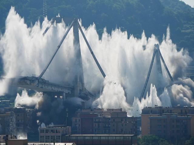 'Così fu demolito il ponte': parla l'esplosivista che progettò l'abbattimento