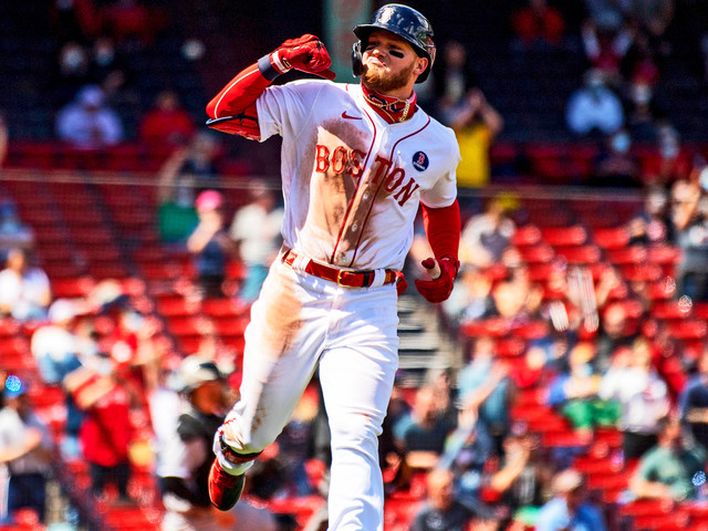 Red Sox Blow Out White Sox In Patriots' Day Game At Fenway Park
