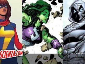 Cinema: Kevin Feige conferma: Ms. Marvel, Moon Knight e She-Hulk dalle serie su Disney+ al grande schermo