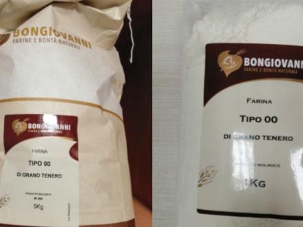 Senape non dichiarata: richiamata la farina 00 di grano tenero bio Bongiovanni