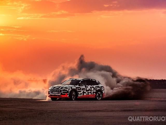 Audi e-tron - Sugli sterrati della Namibia con la Suv elettrica