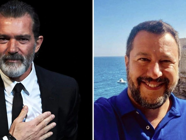 """Antonio Banderas contro Salvini: """"La situazione della Open Arms? È un orrore"""""""