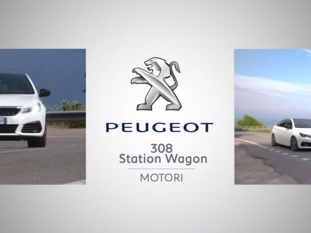 Le nuove motorizzazioni della Peugeot 308 SW