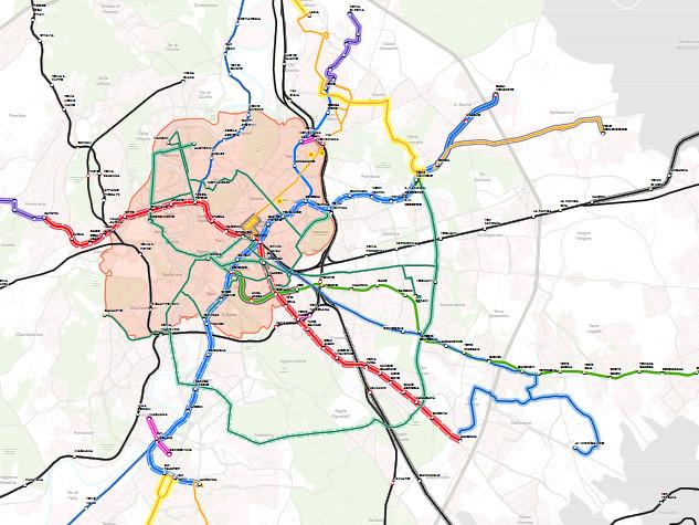 Funivie, tram e people mover ma nessuna novità sulla linea C: ecco il Pums di Virginia Raggi