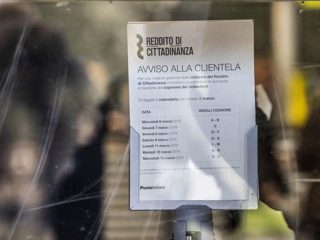 In provincia di Messina 102 persone percepito il reddito di cittadinanza senza averne diritto