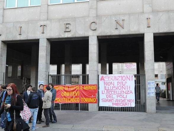 Politecnico di Torino: assemblea pubblica il 18 settembre