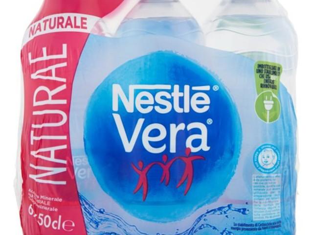 Acqua Nestlé Vera ritirata dal mercato: l'avviso del ministero della Salute