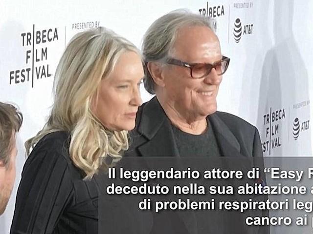 """Addio a Peter Fonda, è morto il leggendario interprete di """"Easy Rider"""""""