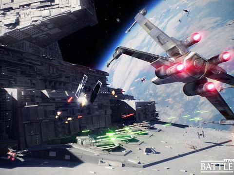 Star Wars Battlefront 2: le battaglie spaziali debuttano in video