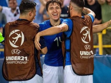 """Under 21, Di Biagio e Gravina esaltano gli azzurrini dopo la vittoria contro la Spagna: """"Grande Italia"""""""