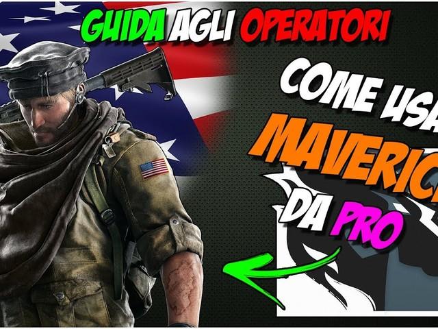 Guida Agli Operatori   Maverick – Rainbow Six: Siege