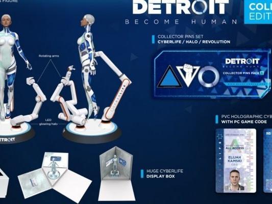 Detroit: Become Human: disponibile la Collector's Edition per PC - Notizia - PC