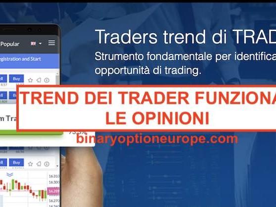 Trend dei Trader di Trade.com e Markets: come funziona cos'è