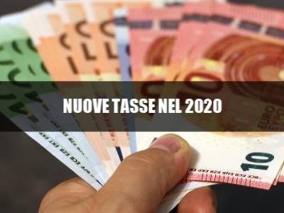 Manovra, le 5 nuove tasse della Legge di Bilancio 2020