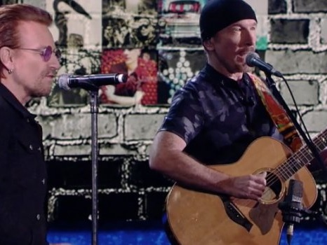 "Video degli U2 a Che Tempo Che Fa, dal medley di Songs of Experience all'intervista: ""L'Italia generosa coi migranti"""