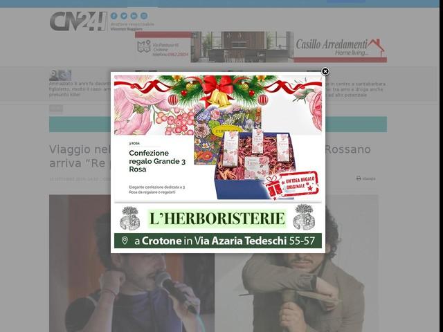 """Viaggio nella Calabria senza tempo: a Corigliano-Rossano arriva """"Re pipuzzu fatto a manu"""""""