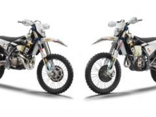 Husqvarna presenta le TE 300i e FE 350 Rockstar Edition 2022