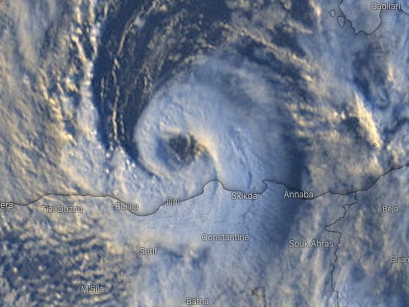 Uragano Mediterraneo sulla Sicilia? Allerta arancione su Palermo