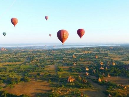 Bagan in mongolfiera: prezzo