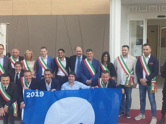 A Gabicce Mare la Festa per le 15 Bandiere Blu delle Marche