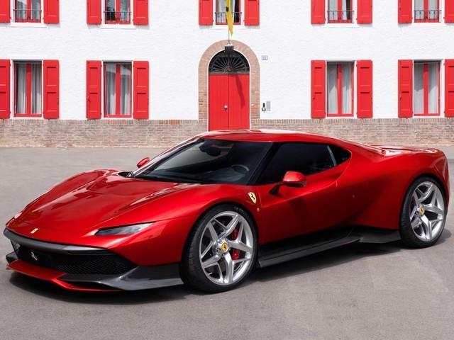 Ferrari SP38: unica e fantastica