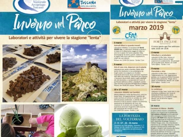 Aspettando la primavera con il Parco Nazionale dell'Arcipelago Toscano
