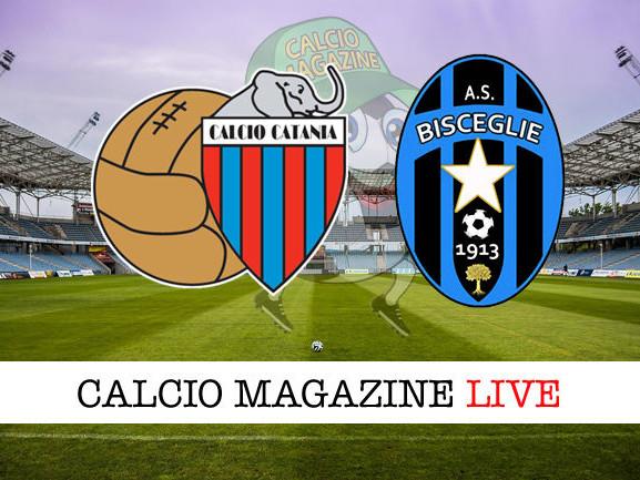 Catania – Bisceglie: diretta live, risultato in tempo reale