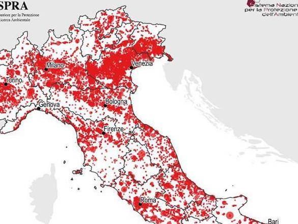 Consumo di suolo, dati preoccupati dal rapporto Ispra. Abruzzo maglia nera, Forum H20: serve cambio di rotta