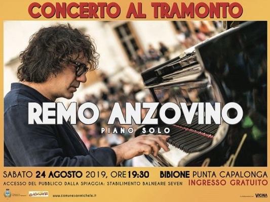 Bibione: concerto al tramonto con Remo Anzovino – 24 agosto 2019