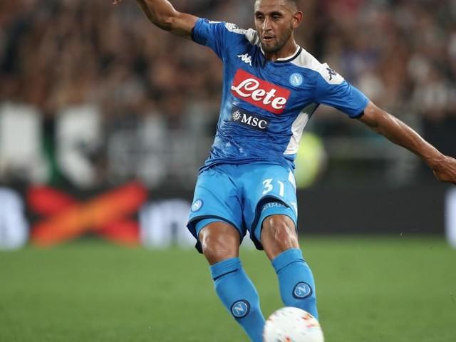 Napoli, altro infortunio per Ghoulam: l'algerino salterà la trasferta di Milano