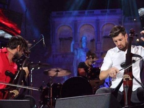 Con i 2Cellos al Wind Summer Festival arrivano i Nirvana: video in Smells Like Teen Spirit